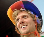 Dirk is happy.